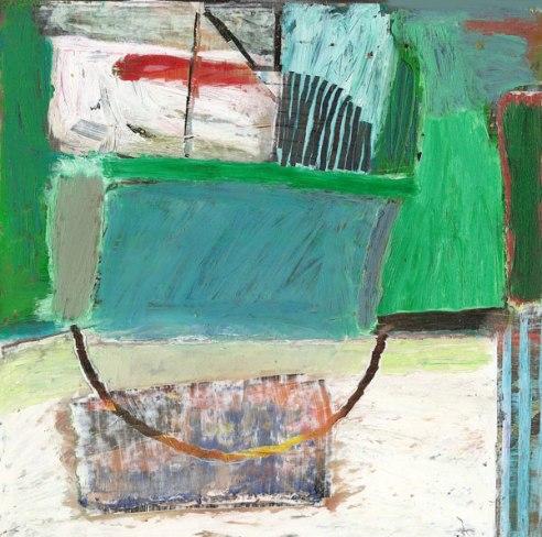 Hope springs eternal, 2010, mixed media, 24″ x 24″