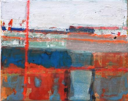 """dry docks 1, 2013, mixed media, 10"""" x 8"""""""
