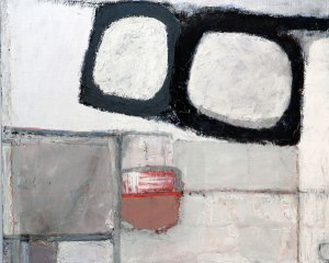 blocks - mixed media on canvas