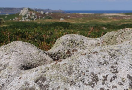Photo of rocks on St. Agnes, Isles of Scilly